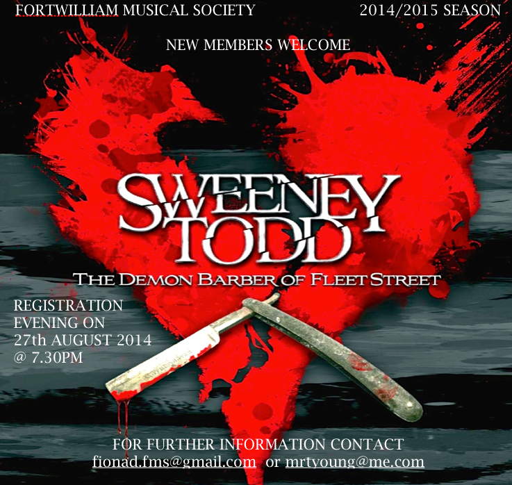 Sweeney Todd Cast Announced